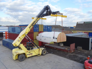 Cargo handling unusual or oversized loads at Williams Shipping