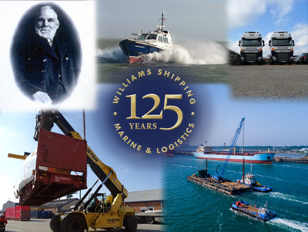 Williams Shipping celebrates 125 years in business