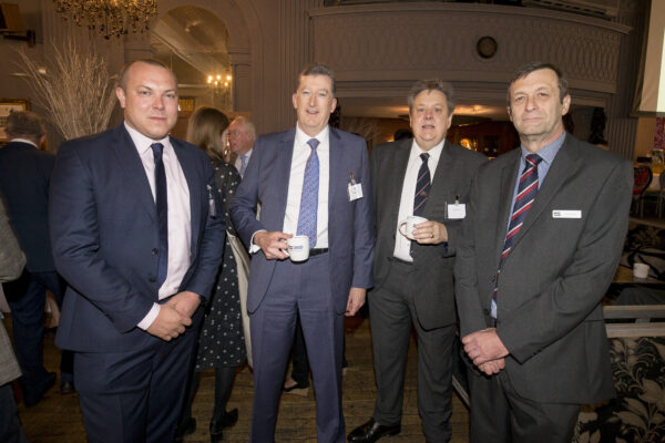 Attendees of Williams Shipping 50th breakfast networking event