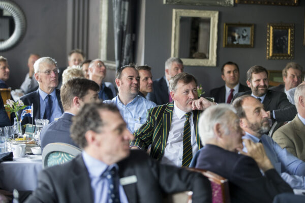 Williams Shipping 50th breakfast networking event audience