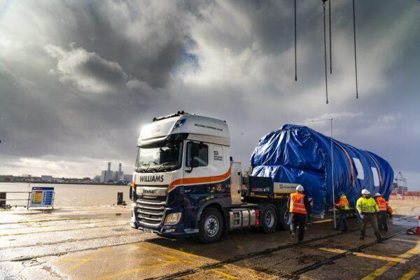 Abnormal load at docks