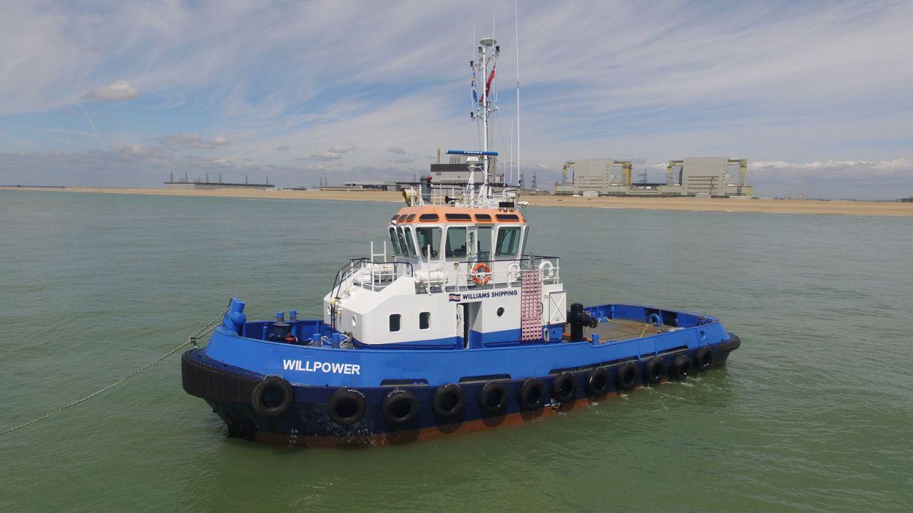 WILLIAMS SHIPPING BRINGS TERRA MARIQUE TO SHORE